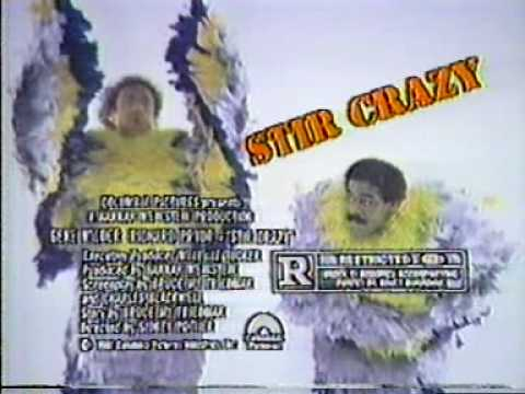 Stir Crazy is listed (or ranked) 46 on the list The Funniest '80s Movies