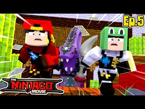 Minecraft LEGO NINJAGO - A QUEST TO FIND THE FOUR FANG BLADES!!