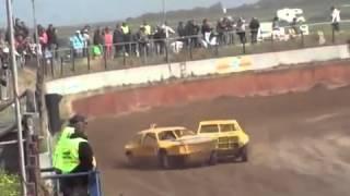 ▶ 1e Autocross Texel 2008 Ben Rentenaar vs Hans Arnout