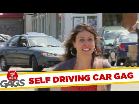 Car Drives Itself - Throwback Thursday