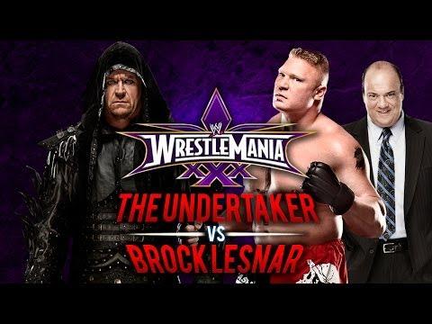 Wwe Wrestlemania 30 - The Undertaker Vs Brock Lesnar - Wwe 2k14 video