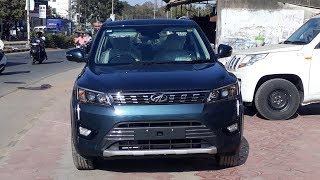 Mahindra XUV300 W8 optional  2019  Review In Hindi  Price  mileage  Features and Specifications