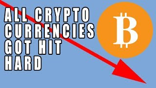 ALL Crypto Currencies HUGE DROP After Bitcoin Exchange Cyberattack!