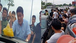 Tin 4T:Vụ xe chở công an bị bao vây ở Đồng nai bắt chủ doanh nghiệp người gọi Giang 36