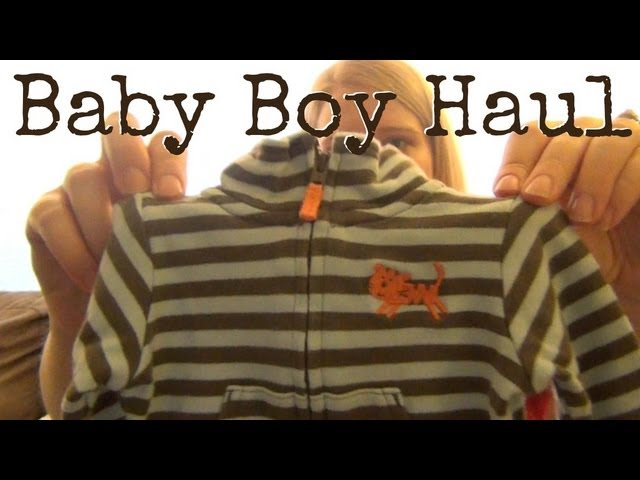 Baby Boy Clothing Haul