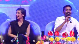 Dhanush answers a funny question by a fan