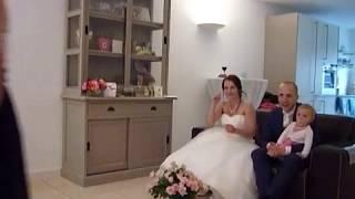 Bruiloft BasxJolien: Dansje kinderen kleinkinderen