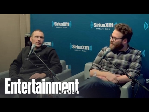 Seth Rogen & James Franco talk about the Sony hack