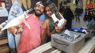 Unboxing Dji Phantom 4 #SurfDicasNasAlturas
