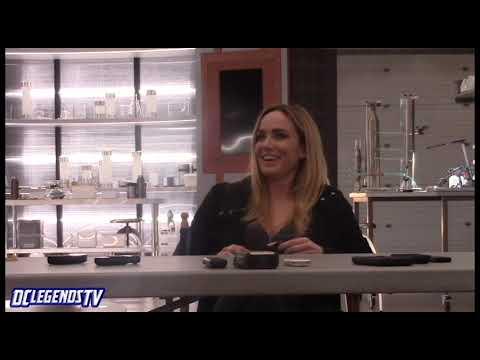 Sara Lance Bisexual Icon | Caity Lotz | Legends of Tomorrow Season 4 on Set