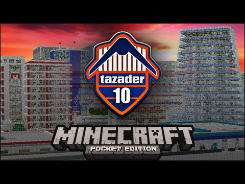 Tazader 10 Minecraft pe City