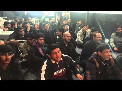 Mir Hassan Mir Azakhana e Darr e Batool swt Bonn Germany  25 Rajab 2016