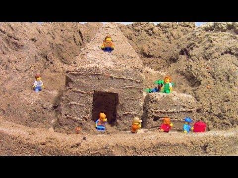 SAND LEGO HOUSE vs DAM BREACH
