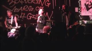 The Avengers live at 924 Gilman St. Berkeley, CA 1/8/17 (The Lookouting Night 4)