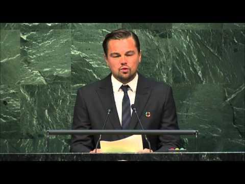 DiCaprio Says U.N. Is Earth's Last Best Hope