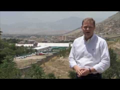 BBC Paul Wood reporting on Afghan peace jirga attack from Kabul.