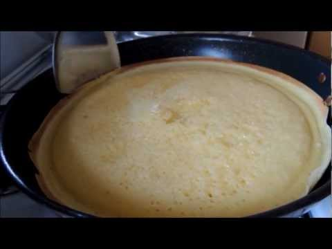 Easy Homemade Thick Indonesian Pancake ~ Martabak Manis