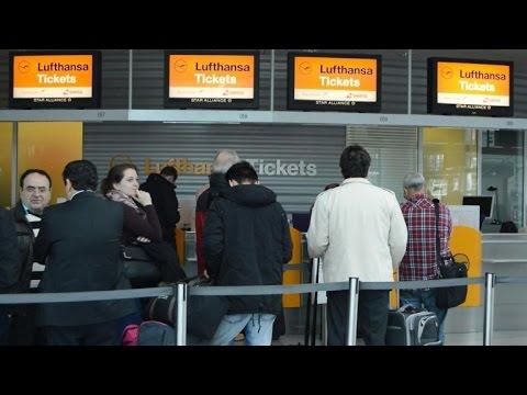 Lufthansa cancels 750 flights due to pilots' strike