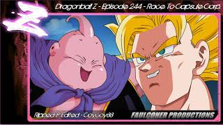 Dragonball Z - Episode 244 - Race To Capsule Corp. - [Faulconer Background Music Only]