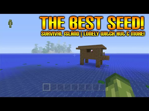 Minecraft Xbox 360 + PS3 Seed - The Best Minecraft Seed Ever! Stronghold At Spawn Lonely Witch Hut