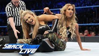 Natalya vs. Carmella: SmackDown LIVE, Dec. 13, 2016