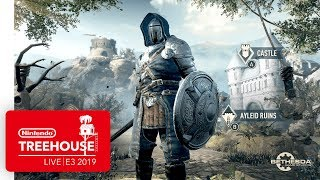 The Elder Scrolls: Blades Nintendo Switch Gameplay - Nintendo Treehouse: Live | E3 2019