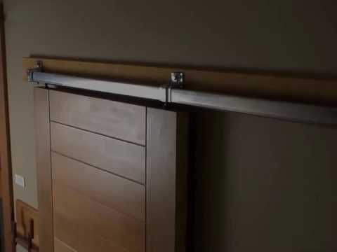 Sliding Barn Door Hardware Box Rail Youtube
