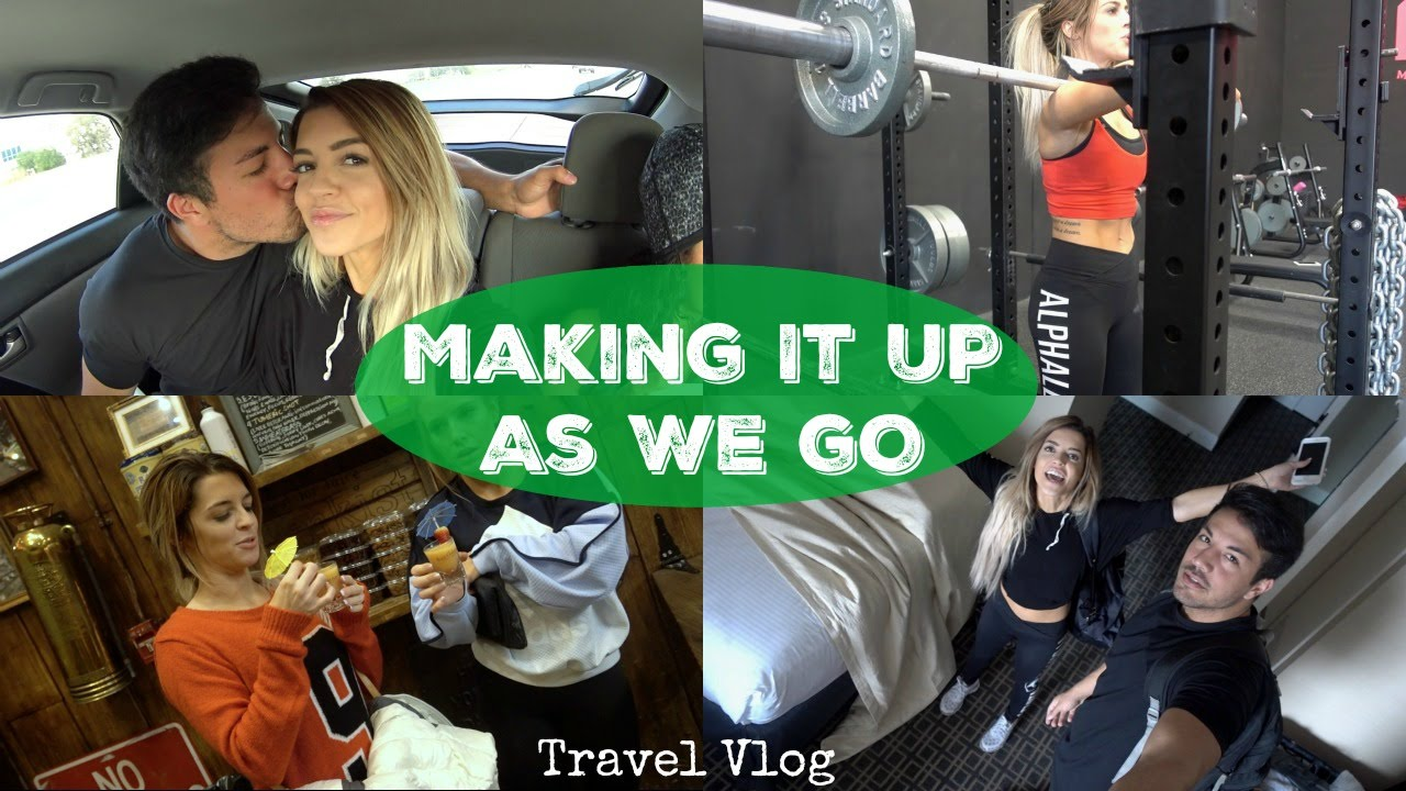Making It Up As We Go | Travel Vlog