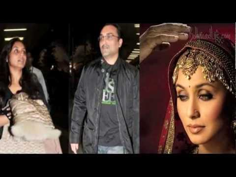 Rani Mukerji-Aditya Chopra marriage on hold