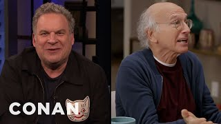 Jeff Garlin: Larry David Is Very Unprofessional - CONAN on TBS