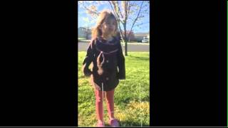Girl Sad Her Trump Yard Sign Were Stolen