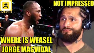 MMA Community Reacts to the DOMINATING Performance in Leon Edwards vs Rafael Dos Anjos,Masvidal