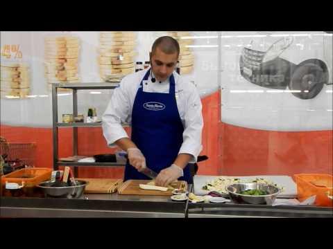 Мастер класс - теплый салат из овощей с булгуром по-индийски