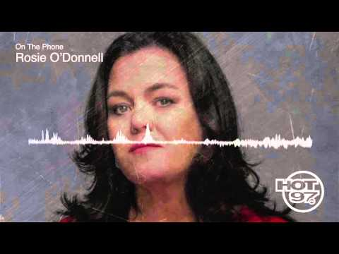 Rosie O'Donnell  Loves Bernie But Pro Hillary and Talks New Jim Crow