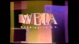 WETA logo (1989 - 1996) with effects
