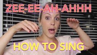 The 3 Minute Voice Lesson - Evynne Hollens