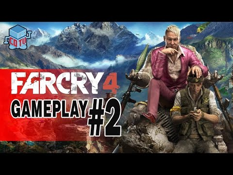 Far Cry 4 Gameplay 02 with Black Nerd Comedy