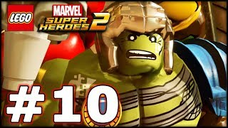 LEGO Marvel Superheroes 2 - Part 10 - Hulks! (HD Gameplay Walkthrough)