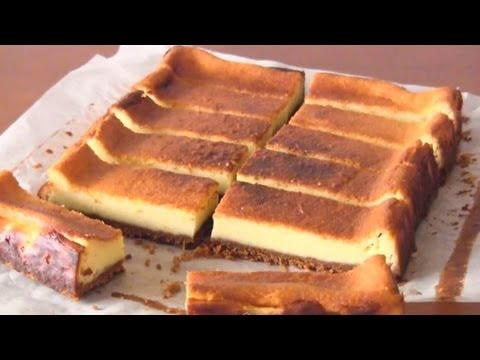 How to Make Japanese Baked Cheesecake (Recipe) ?????????? (???)