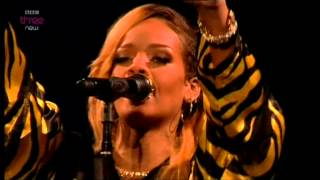RIHANNA DIAMONDS LIVE @ T in the Park 2013 Festivals GB