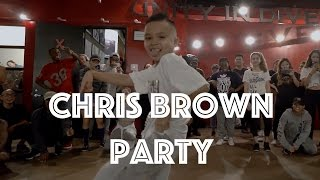 Chris Brown - Party | Hamilton Evans Choreography