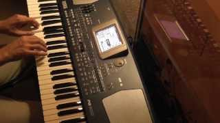 Sunset Melody - Composition personnelle - Korg PA500