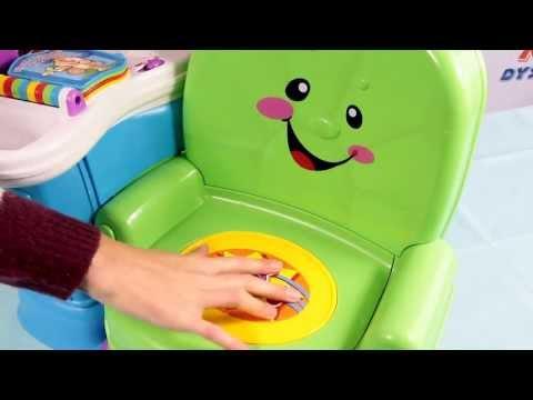Krzesełko Uczydełko Dwujęzyczne - Laugh & Learn - Fisher Price - www.MegaDyskont.pl