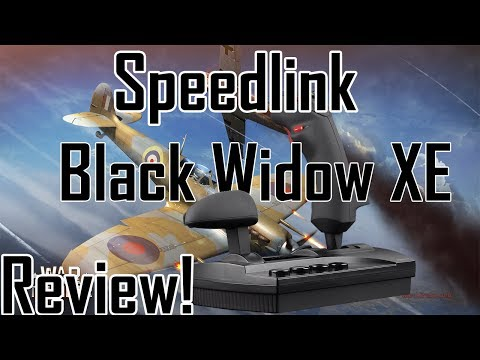 SpeedLink Black Widow XE Review!