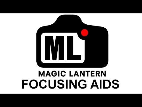 Magic Lantern focus peaking, magic zoom and live view zoom tweaks.