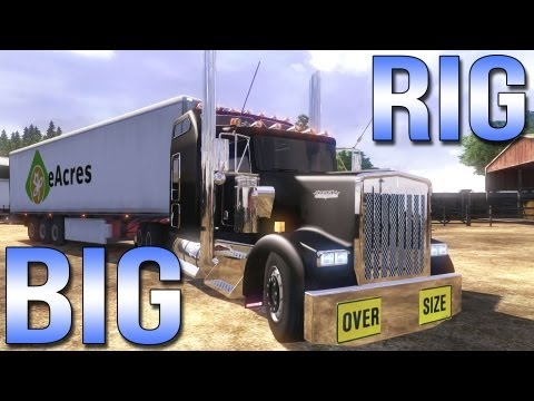 BIG RIG - Euro Truck Simulator 2 - Kenworth W900L