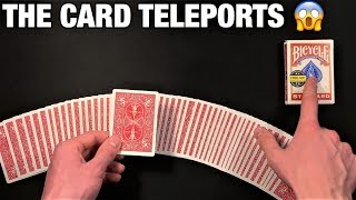 FOOL All Your Friends With This Disappearing Card Trick!