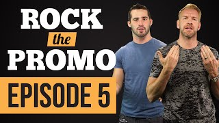 ROCK THE PROMO - Episode 5 feat. The Rock & Christian (Hosted by Joe Santagato)