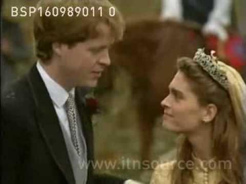 Princess Diana at her brother's wedding