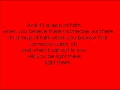 Michelle Branch - Leap Of Faith